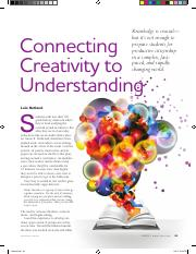 connecting creativity to understanding.pdf