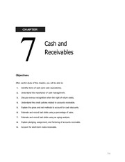 07 Cash & Receivables