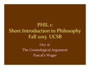 Phil 1 Oct. 6 slides