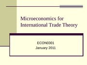 L01(Econ for Trade Theory) - micro_for_trade