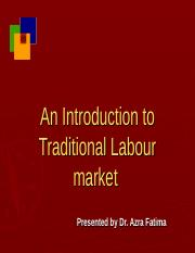 Topic 1 - An Intro To Labour Market ppt