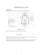 Refrigeration Cycle Tutorial