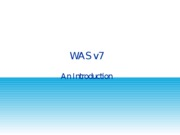 WASv7_Introduction