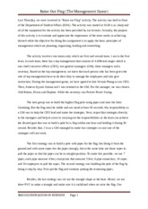 RAISE FLAG essay