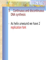Kuliah 12-Replication of DNA cont