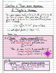 Lecture23 - Power Series expansion & Taylors theorem.pdf