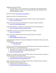 Economics Web Sites(1)