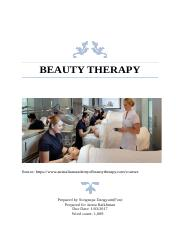 Beauty therapy.docx
