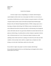 essay on the history of automobiles
