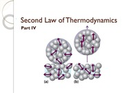 Second Law of Thermodynamics Part IV