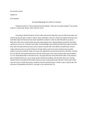 Annotate Bibliography for David Freedman.docx