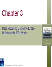 Ch03_Data Modeling Using the Entity Relationship Model .ppt