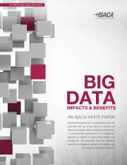Big-Data Benefits and Impacts-White Paper