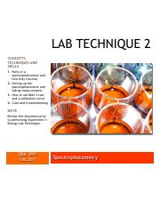 Lab Technique 2 Spectrophotometry BIOL 1P91 Fall 2017.pdf