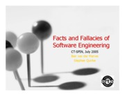 SPIN 4 - Facts and Fallacies of Software Engineering
