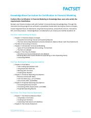Knowledge Base Curriculum for Certification in Financial Modeling.pdf