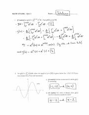 math1271 quiz2solutions summer2016