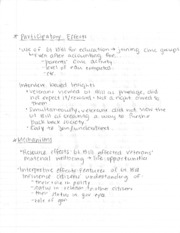 Participatory Effects Notes