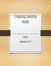 Comparing Leadership Models.pptx