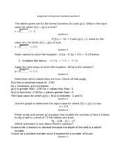 Assignment solving linear equations question 1.docx
