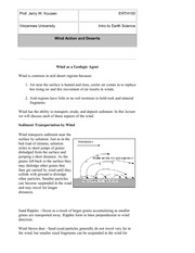 Chapter 4 Lecture Notes-Deserts
