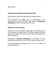 06 COMPARATIVE ADVANTAGE
