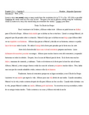Spanish Story Chapter 3