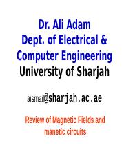 Magnetic Circuits Review.sharjah(2)
