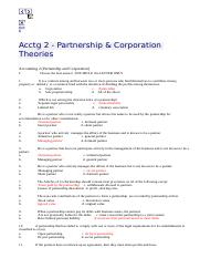 Acctg 2 - Partnership & Corporation Theories _ ACCTG @ UDM.html