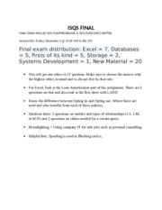 ISQS FINAL EXAM REVIEW.docx