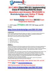[2017-May]Braindump2go New 300-101 Dumps VCE and 300-101 Dumps PDF 295Q&As Free Share(28-37).pdf