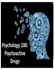 Psych 100-Lecture 8-Drugs-Post.pdf