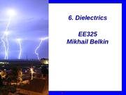 325_Sp2011_6_Dielectrics