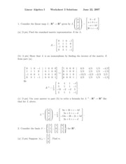 worksheet solution 3