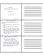 MacroEcon Chapter 2 Worksheet