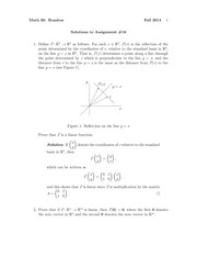 MATH 60 Fall 2014 Assignment 16 Solutions