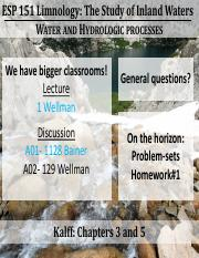 02- ESP151 Lecture Water and Hydrologic Processes (1)