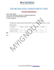 MS-08[Quantitative Analysis for Managerial Applications].pdf