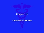 Alternative Health Care 2007