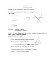 Polygons Notes