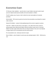 TAMIU Macroeconomics 2301 Chapter 5 & 7 Part III