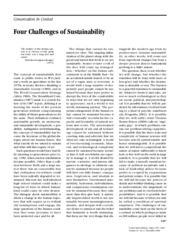 Orr  Four Challenges of Sustainability