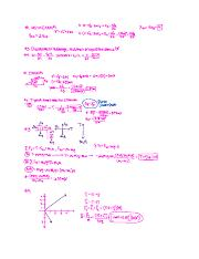 Exam 2 Physics Notes