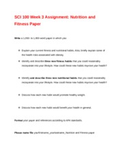 rev NUTRITION AND FITNESS WK 3