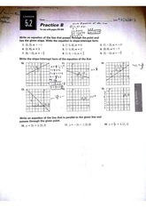 Lesson 5.2 Homework Sheet B