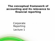W1 Conceptual Framework of Accounting