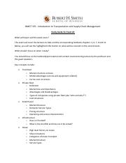 Exam #2 - Information and Study Guide_v2 (1)