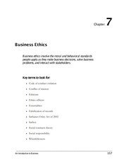 Chapter 7 - An Introduction to Business 9th ed