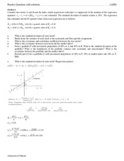 08 CAPM _ Practice Questions with solutions(1)