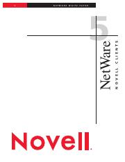 Novell Clients